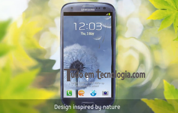 Novo Samsung Galaxy SIII!