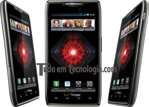 Novo Razr Maxx Motorola!