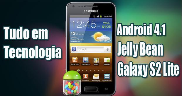 Como Atualizar Galaxy S II Lite para Android 4.1 Jelly Bean