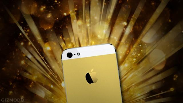 iPhone-dourado