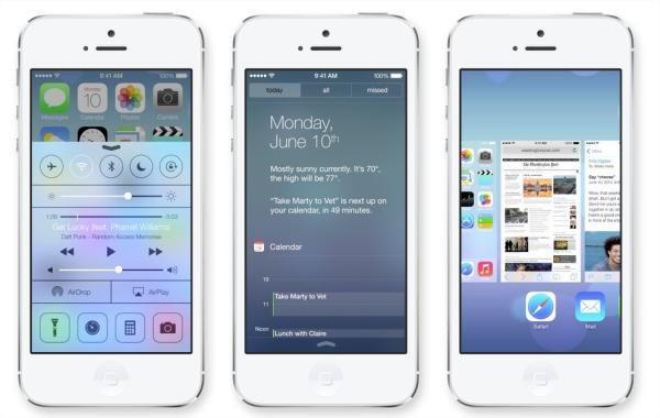 iOS7 Fonte: Apple