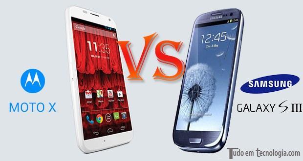 Motorola Moto X ou Galaxy S3?