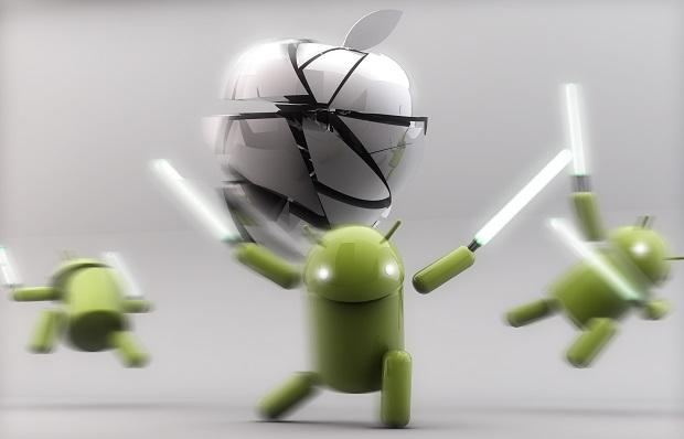 Apple-vs-Android-War