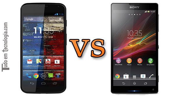 Moto X vs Xperia ZQ