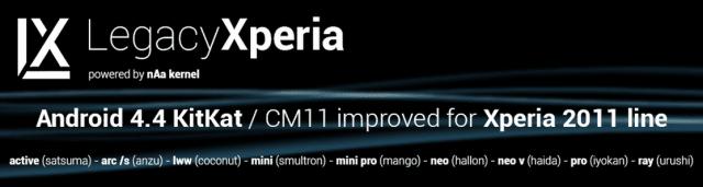 LegacyXperia-Project