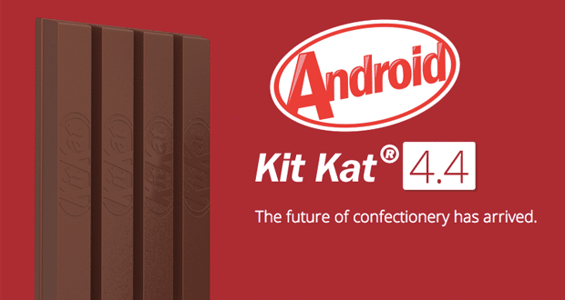 Smartphones que serão atualizados para Android 4.4 KitKat