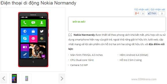 Nokia Normandy