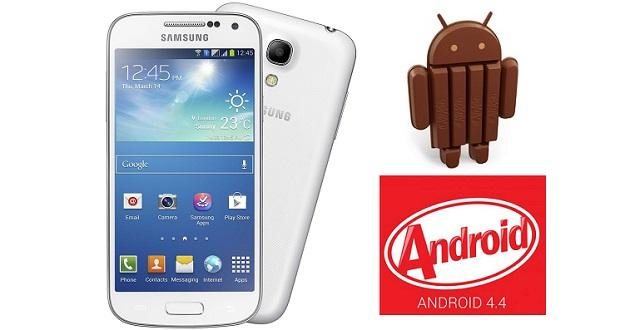 Galaxy S4 Mini Android 4.4