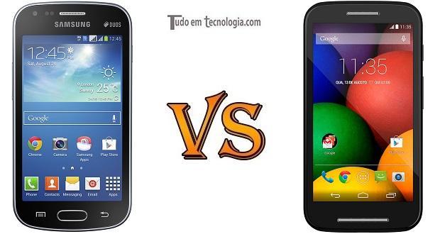 Galaxy S Duos 2 vs Moto E