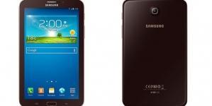 Galaxy Tab 3 T2110 com 3G