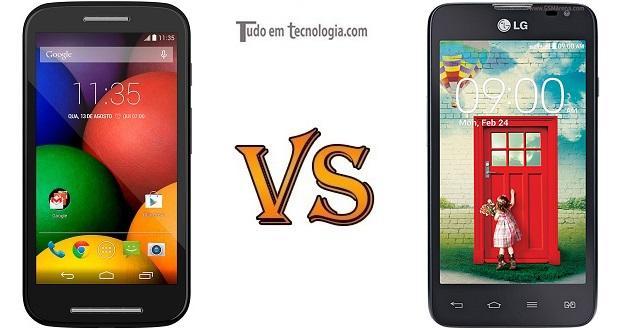 Moto E vs LG L65