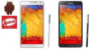 Como atualizar Galaxy Note 3 para Android 4.4 KitKat
