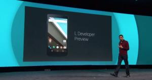 Smartphones que devem receber o Android L