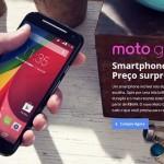 Novo Moto G a partir de R$597