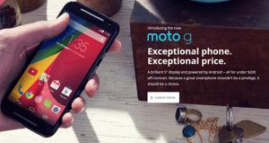 Novo Moto G (2nd Gen.)