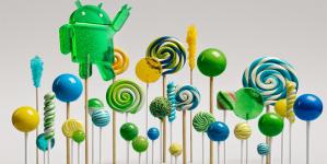 Smartphones que poderão receber o Android 5.0 Lollipop