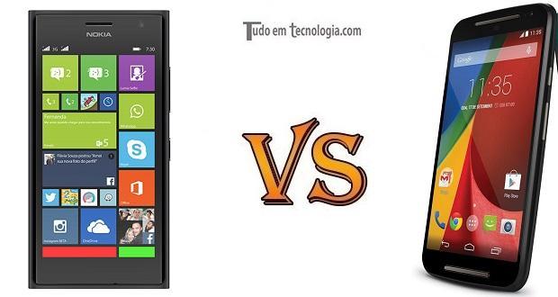 Lumia 730 vs Moto G (2014)