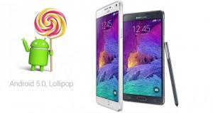 Galaxy Note 4 deve receber o Android 5.0.1