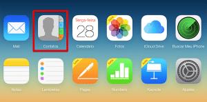 Contatos iCloud