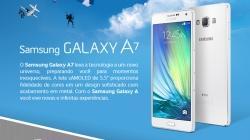 Galaxy A7 disponível no Brasil, mas preço assusta