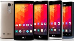 LG lança quatro aparelhos intermediarios