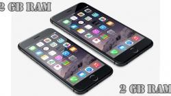 iPhones 6s e 6s Plus poderão ter 2GB de RAM