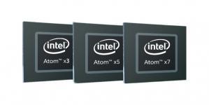Novos processadores Intel Atom x3, x5 e x7