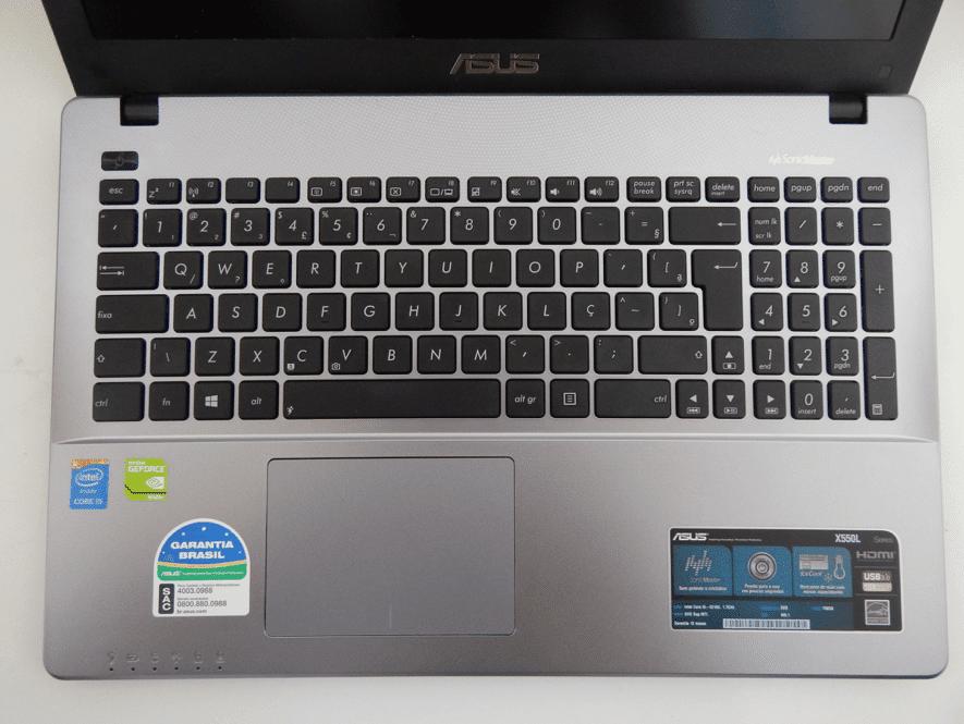 x550ln teclado