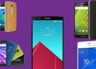Smartphones dual chip 4G
