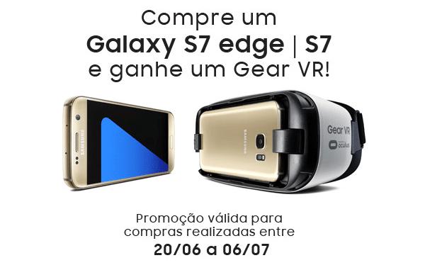 compre S7 e ganhe Gear VR