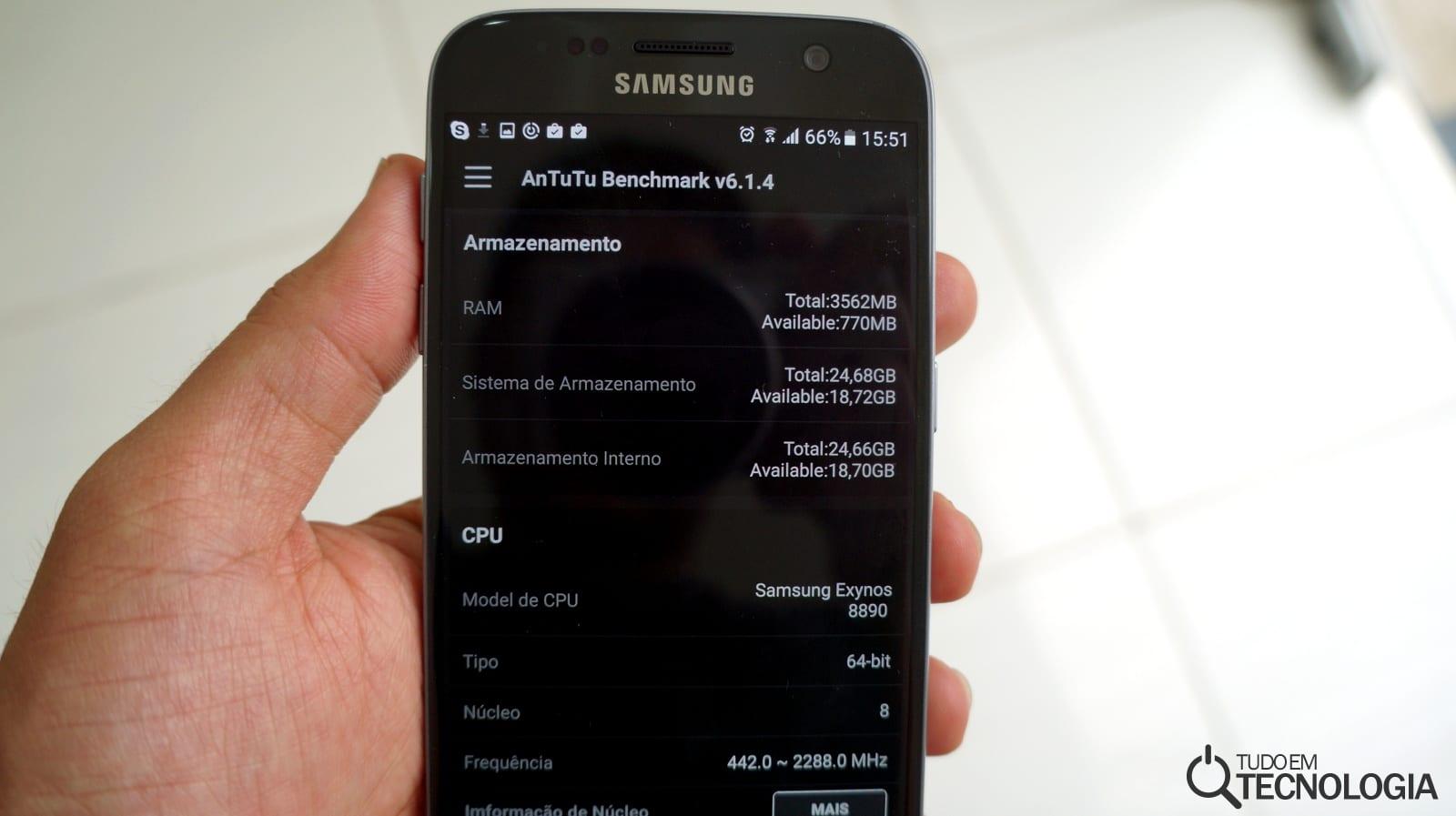 Galaxy S7 hardware
