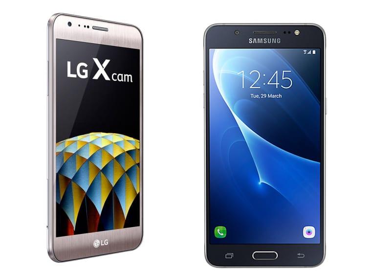 LG X Cam vs Galaxy J5 Metal
