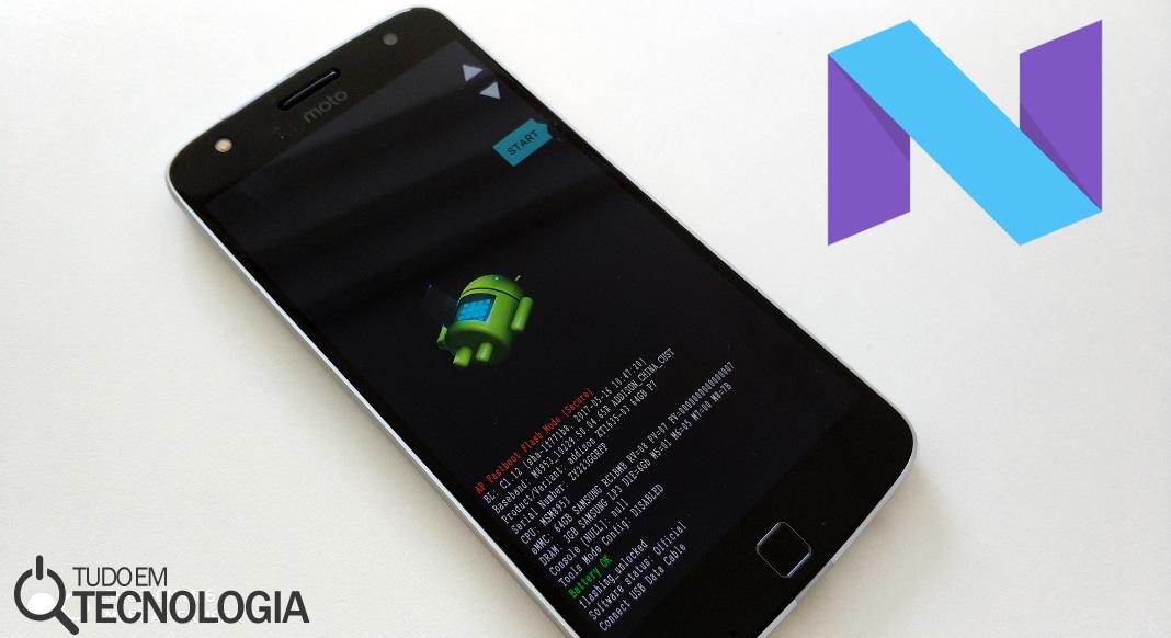Como atualizar Moto Z Play comprado na China para Android