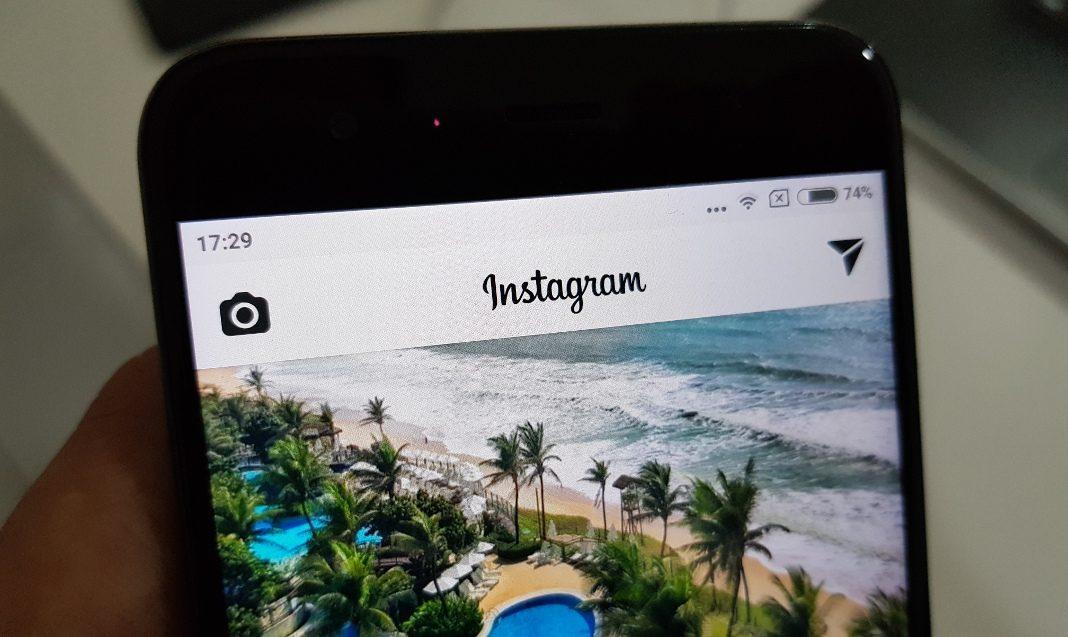 Instagram agora permite usar máscaras em seus vídeos ao vivo