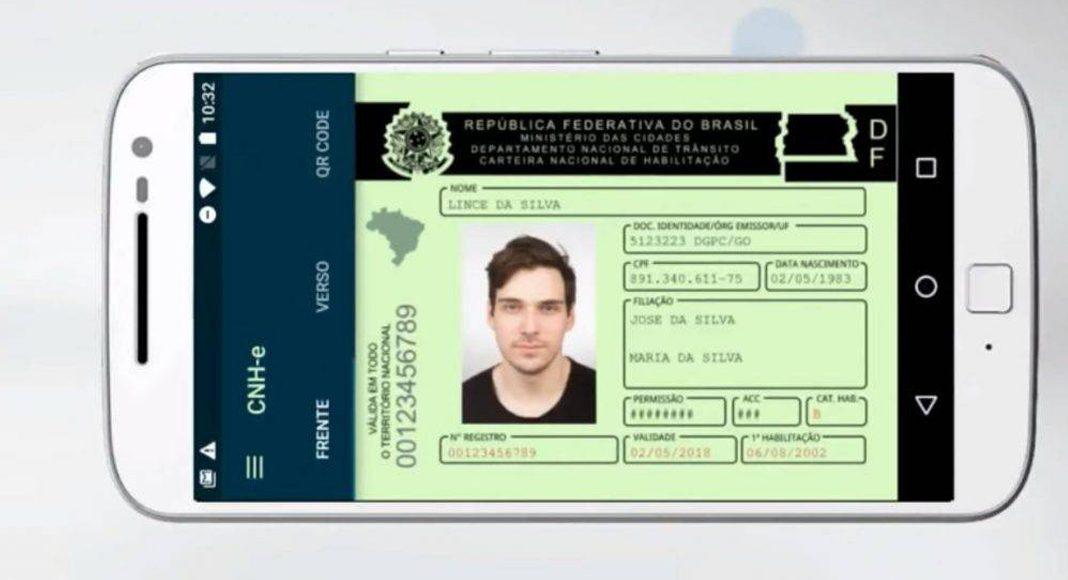 Carteira Nacional de Habilitação Digital chega hoje ao DF