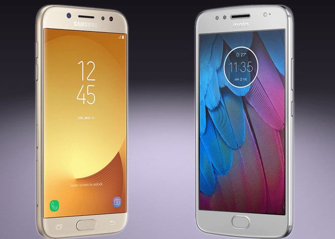 Galaxy J5 Pro vs Moto G5s