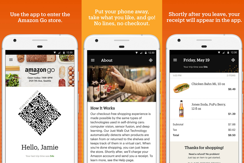 Amazon abre o 'supermercado do futuro', sem caixas e filas