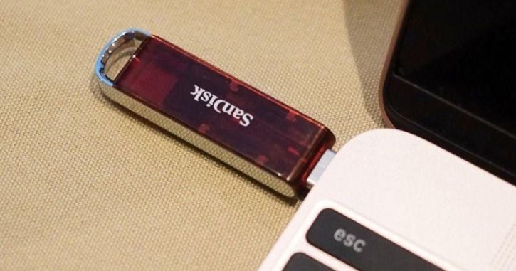 SanDisk mostra menor pen drive do mundo com 1 TB de capacidade