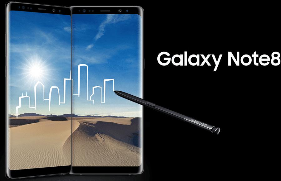 Galaxy Note8 promoção