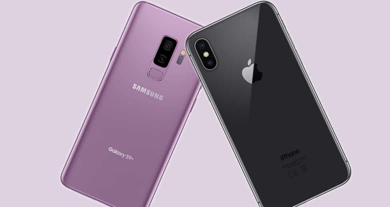 df67b4f77 Galaxy S9 Plus vs iPhone X  quem é mais rápido  – Tudo em Tecnologia