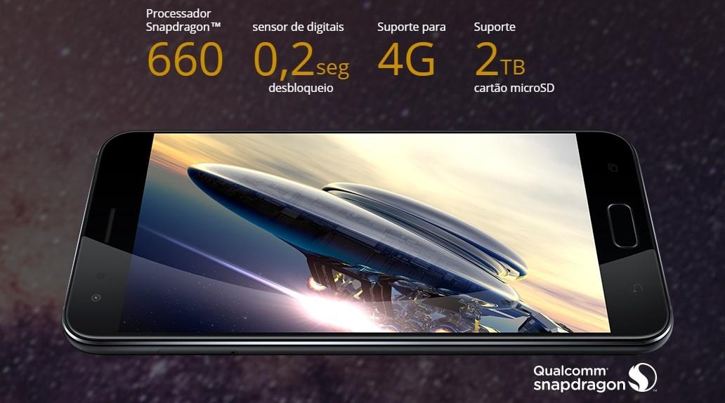Zenfone 4 snapdragon 660
