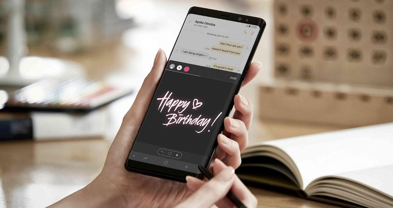 Galaxy Note 8 Ame digital
