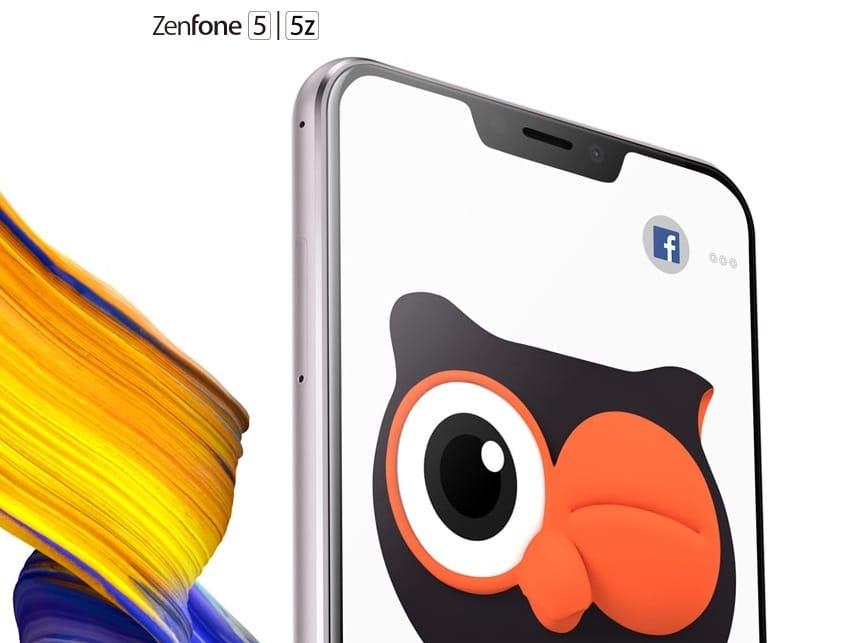 Zenfone 5z submarino