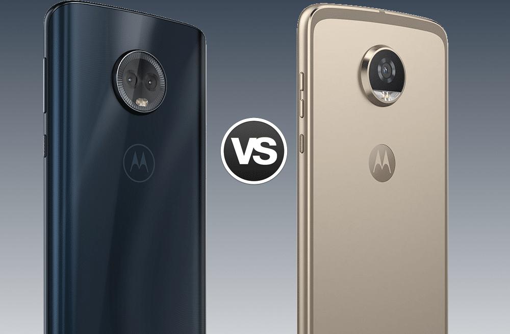 Moto G6 Plus vs Moto Z2 Play