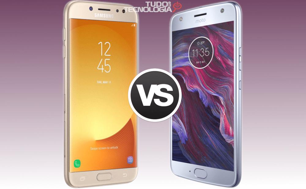 Galaxy J7 Pro vs Moto X4