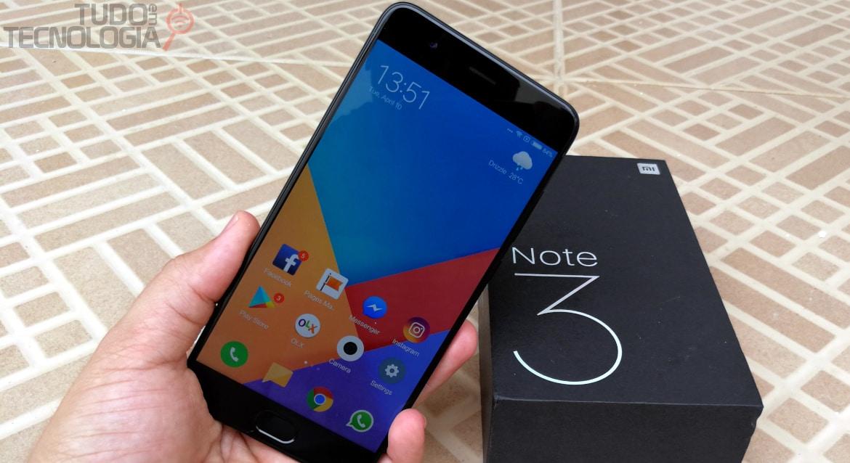Análise Xiaomi Mi Note 3 - Tudo em Tecnologia
