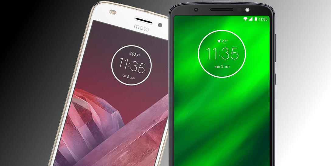 Moto Z2 Play vs Moto G6 Plus