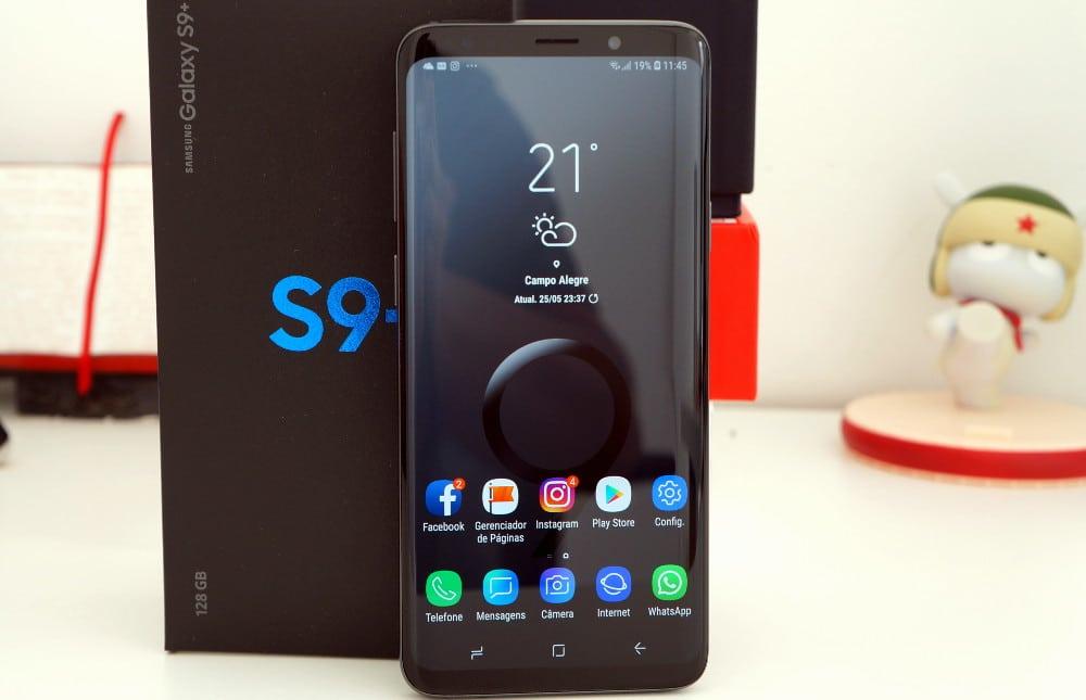 Galaxy S9 Plus promoção