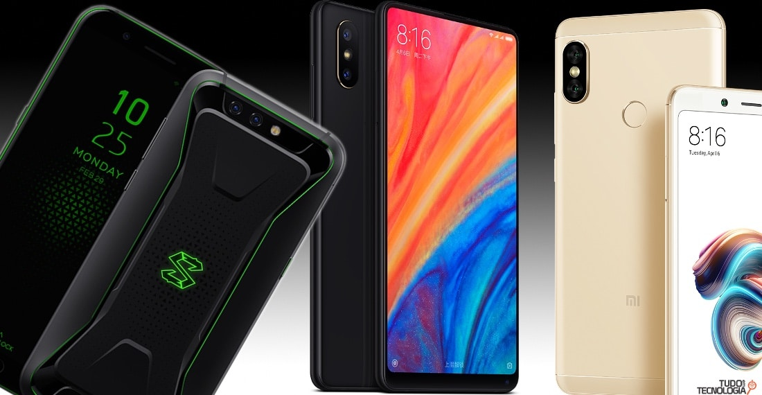 smartphones da Xiaomi para importar