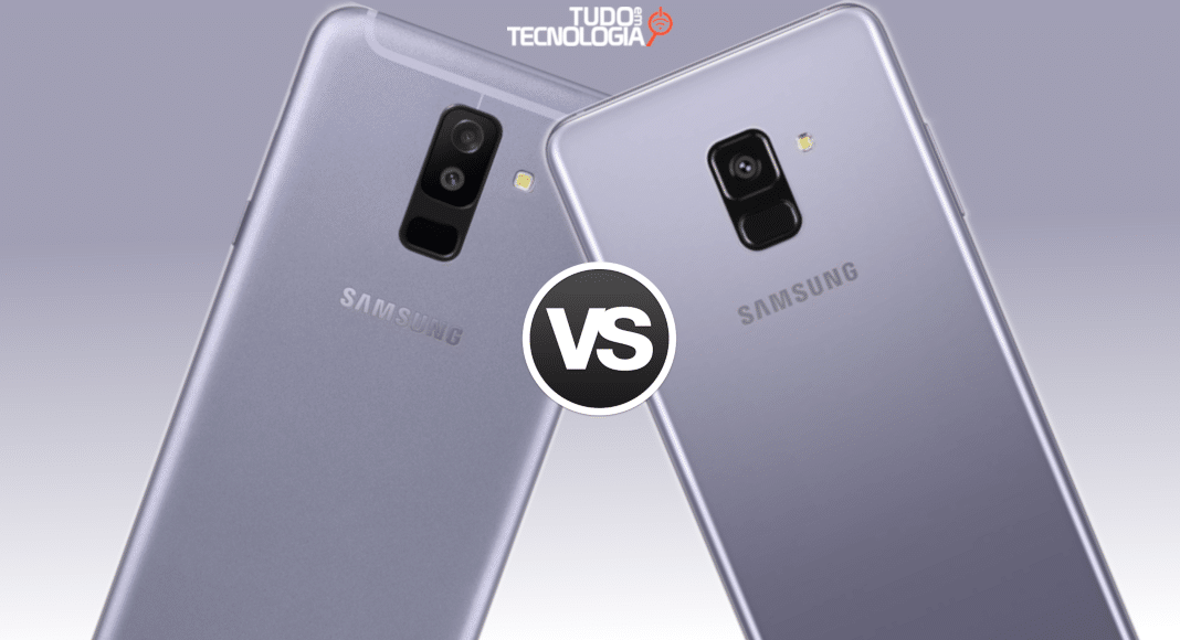 Galaxy A6 Plus vs A8 Plus